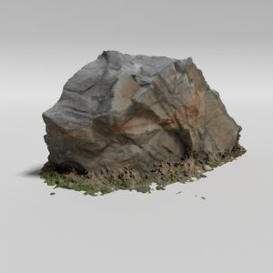granite rock 3D model