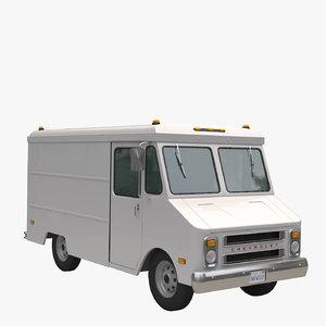 3D model chevrolet 1968
