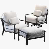 3D castelle coco isle armchairs