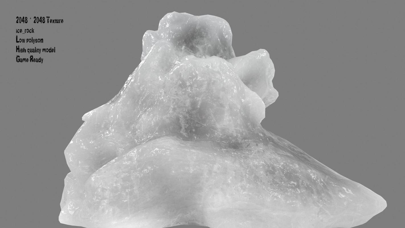 3D iceberg model