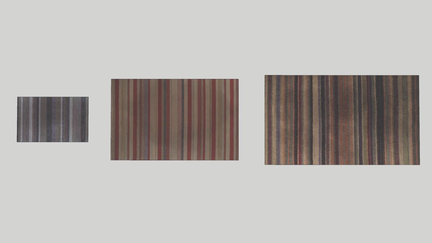 3D carpets model