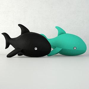 cushions home 3D model
