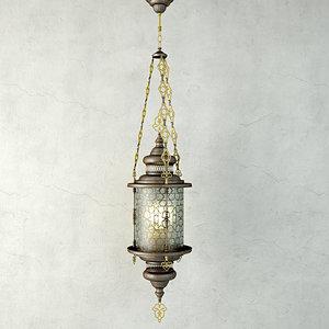 3D model lantern