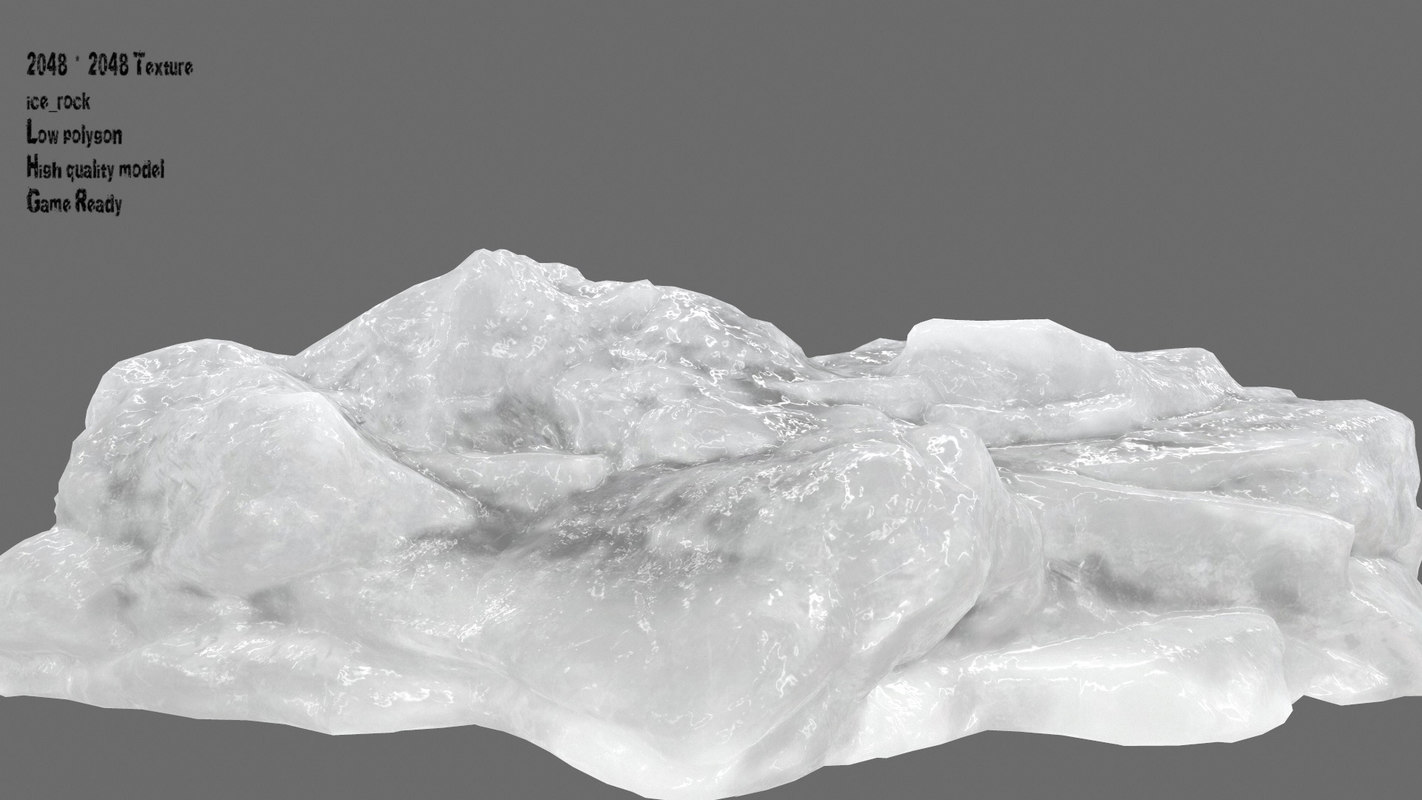 ice temple 3D model