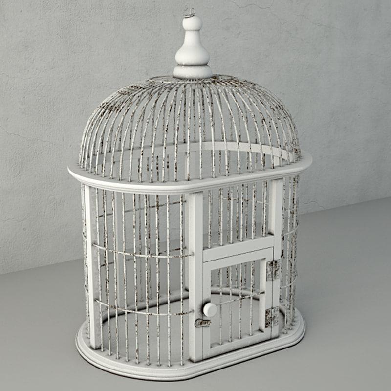 3D decorative bird cage zara