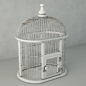 3D decorative bird cage zara