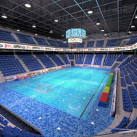 arena water polo 3D
