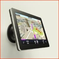 3D gps navigator