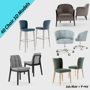 montbel chair 3D