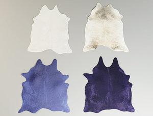 cowhide rugs model