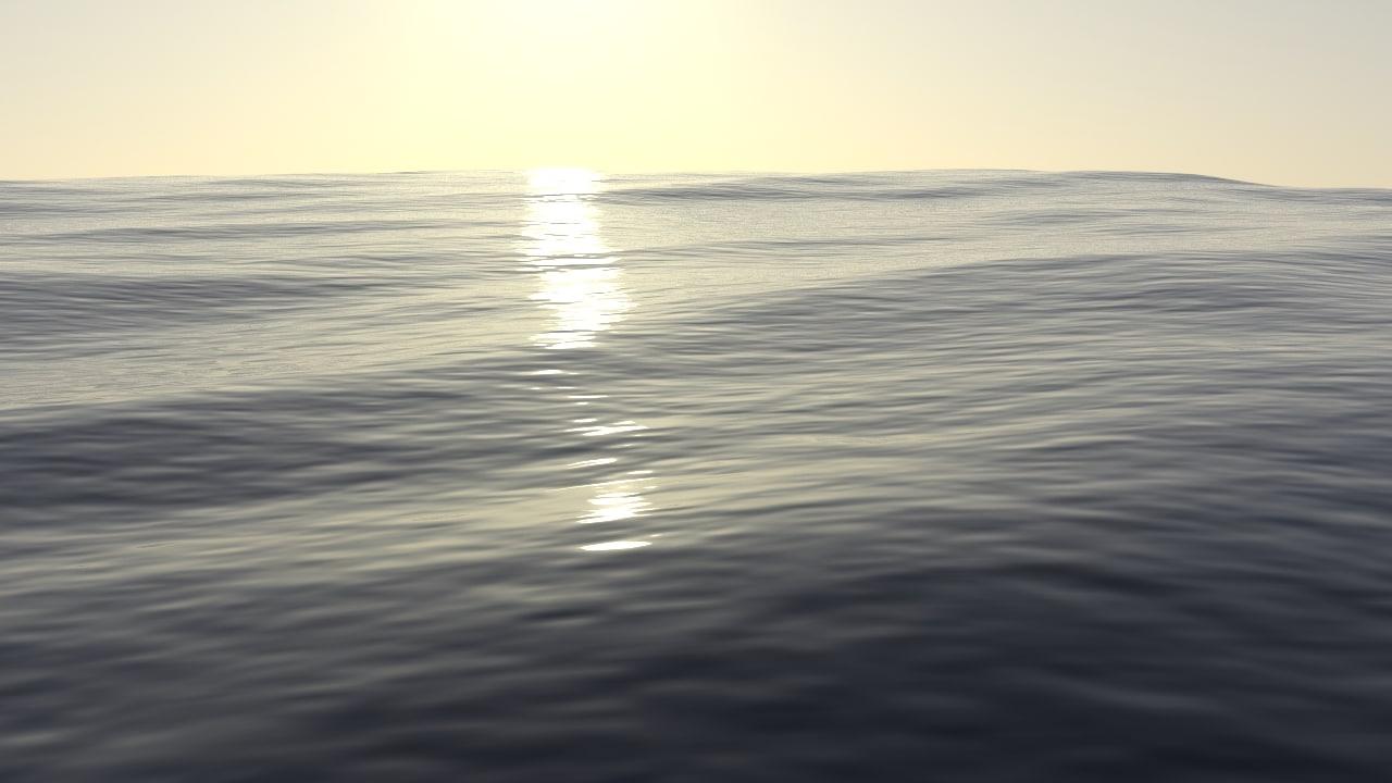 3D sea water model