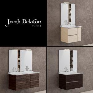 3D model furniture jacob delafon soprano