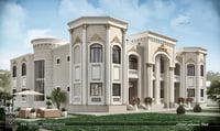 twin villa 3D