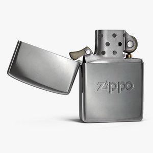 3D classic zippo lighter