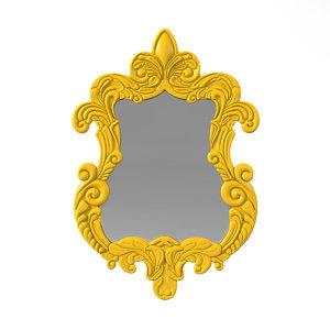 3D fabulous baroque finley