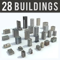 3D office buildings - 28