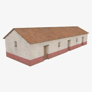 roman building 1 3D model