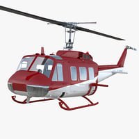 Air Medical Helicopter Bell Model 212