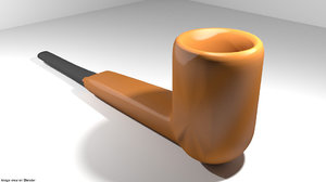 3D panel pipe smoking