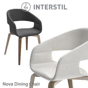 interstil nova dining chair model