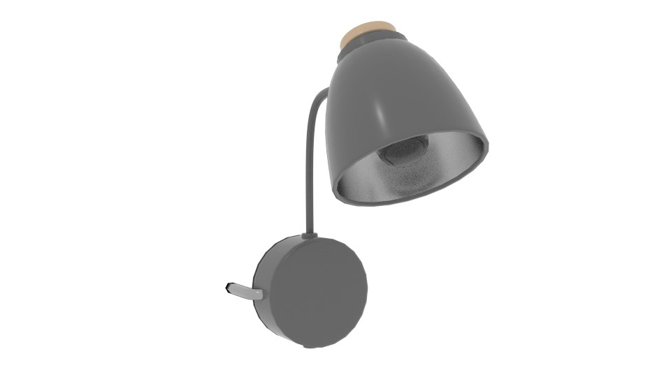 cohen wall lamp 3D model