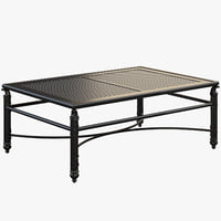 Castelle COCO ISLE LARGE RECTANGULAR COFFEE TABLE