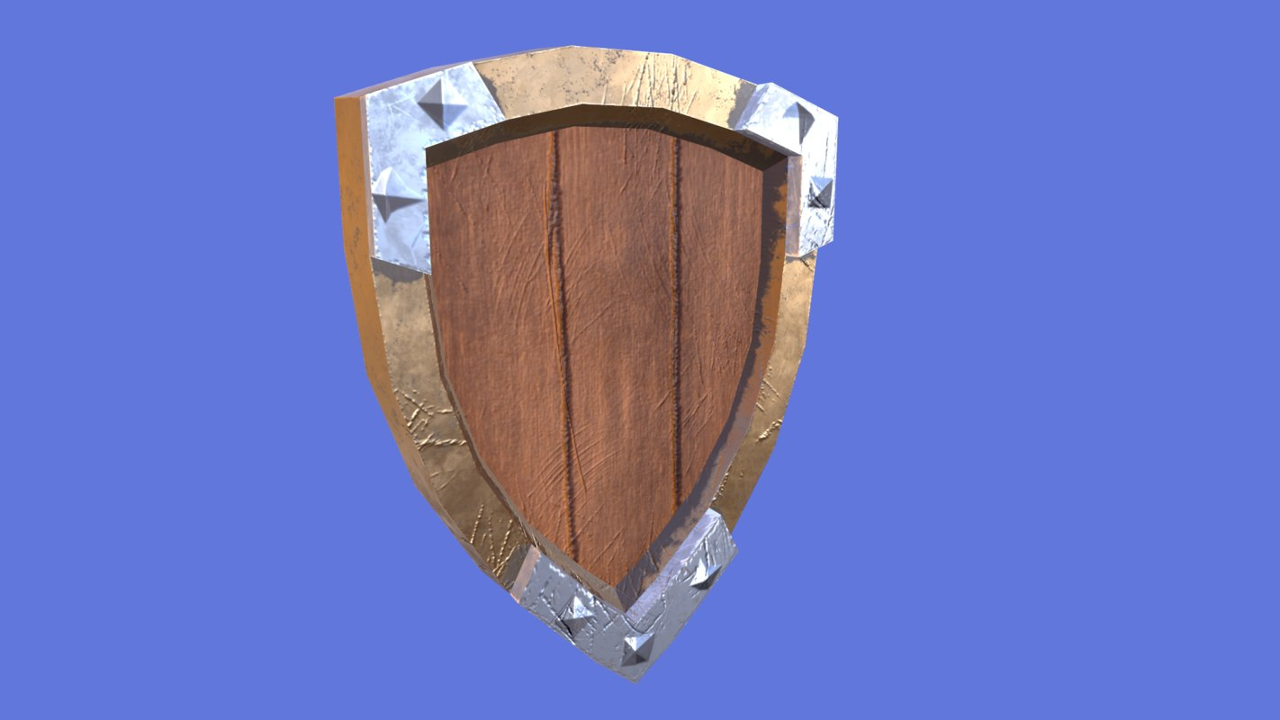 3D shield games model