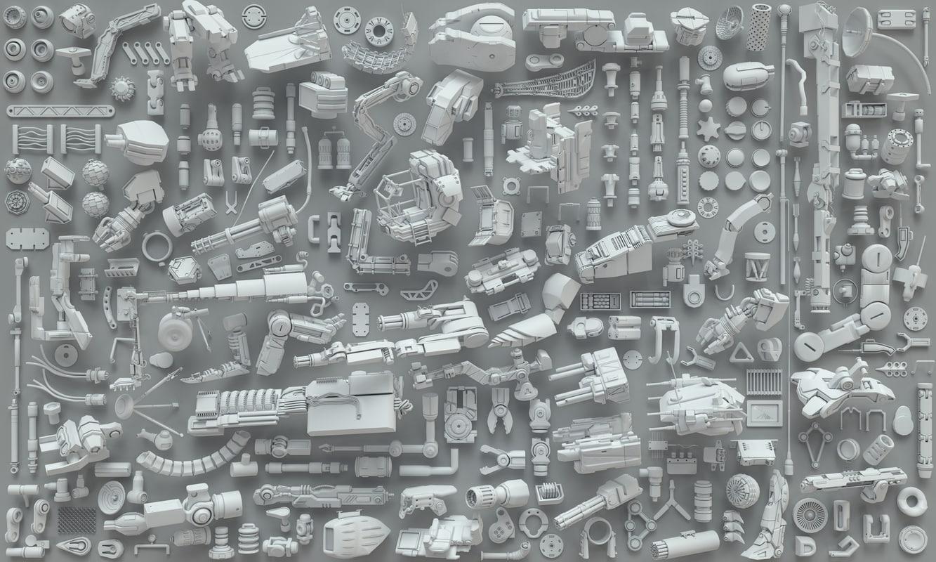 kit bashes - 273 3D model