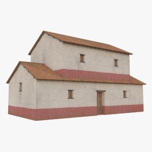 roman building 3 3D model