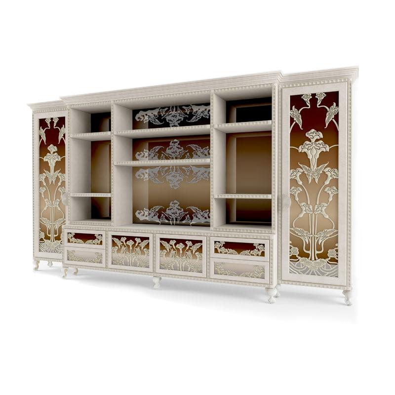 3D model shelf