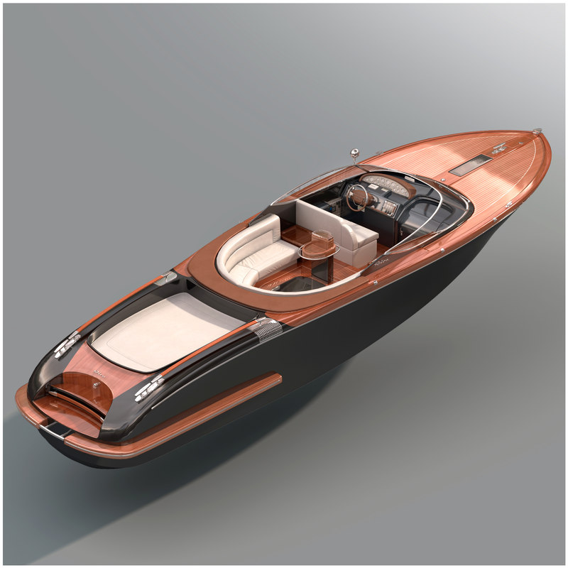 riva aquariva super 3D model