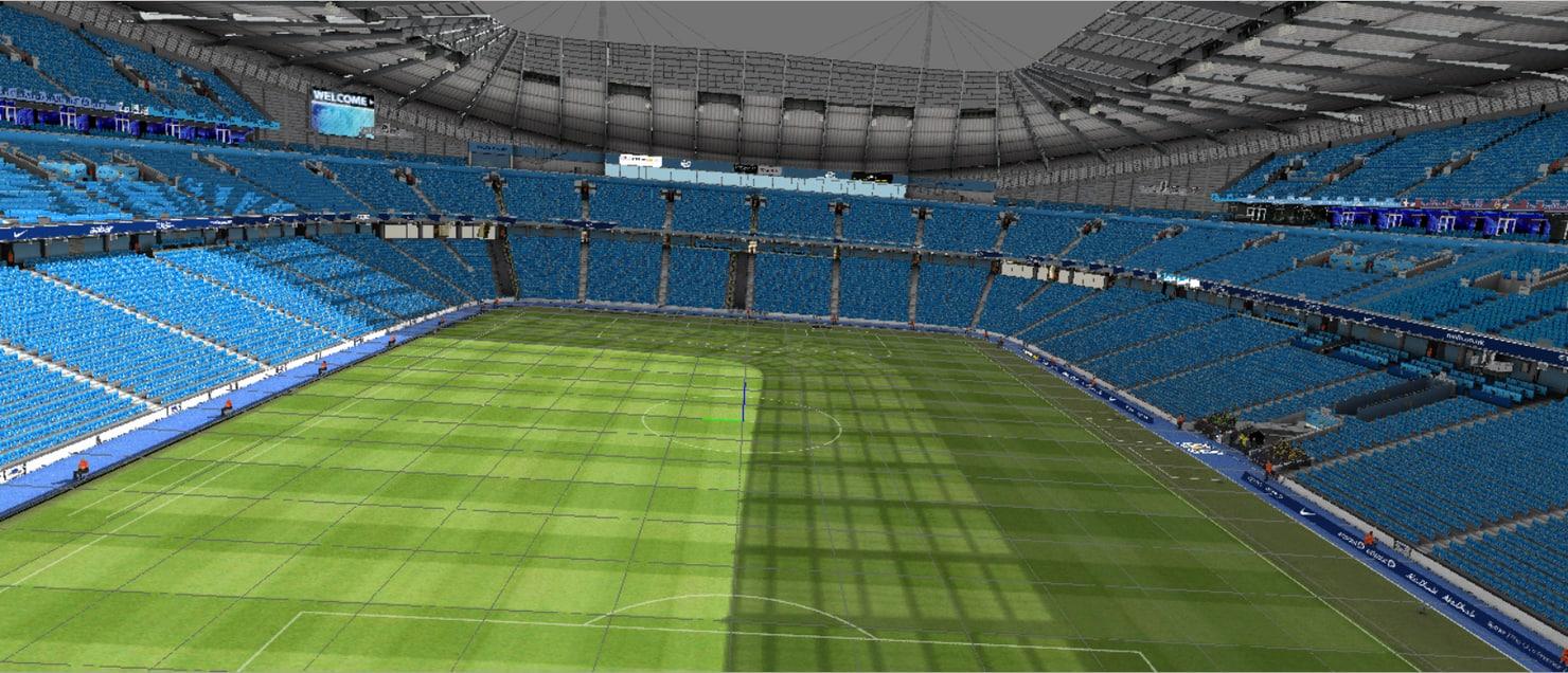 stadium manchester 3D model