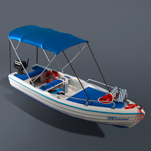 boat recreation 3D
