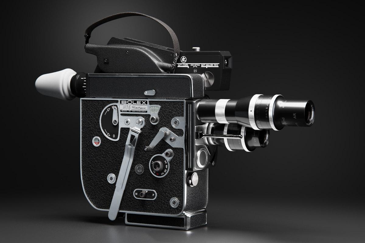 bolex h16 vintage camera 3D