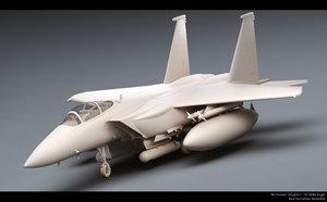 mcdonnell douglas f-15e strike eagle 3D model