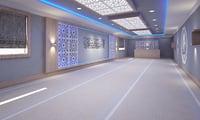 3D interior designed mosque