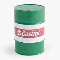 3D oil barrel castrol model