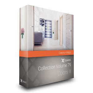 volume 79 doors ii interior 3D model