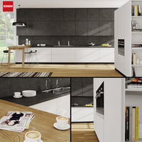 3D kitchen scavolini scenery model