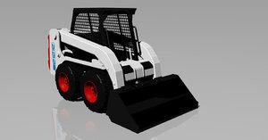 3D bobcat loader