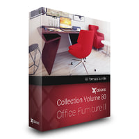 3D volume 80 office furniture model