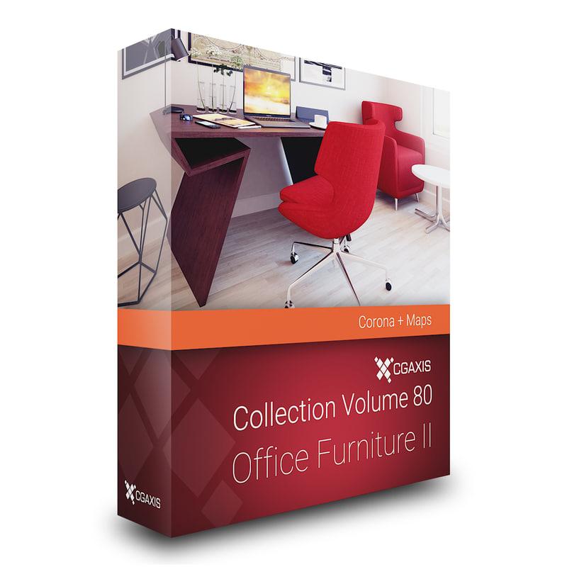 3D model volume 80 office furniture