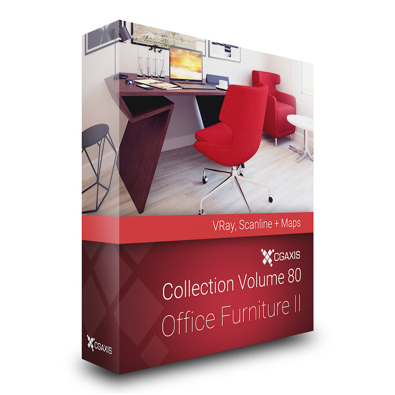 volume 80 office furniture 3D