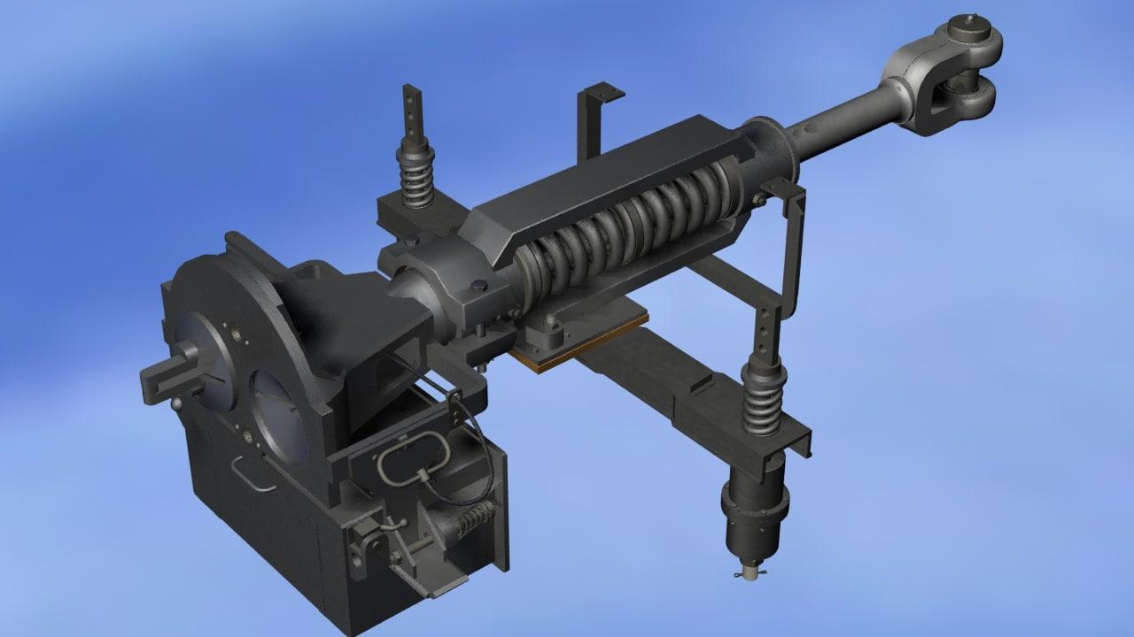 autoczepka 3D model