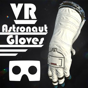 vr hands astronaut 3D model