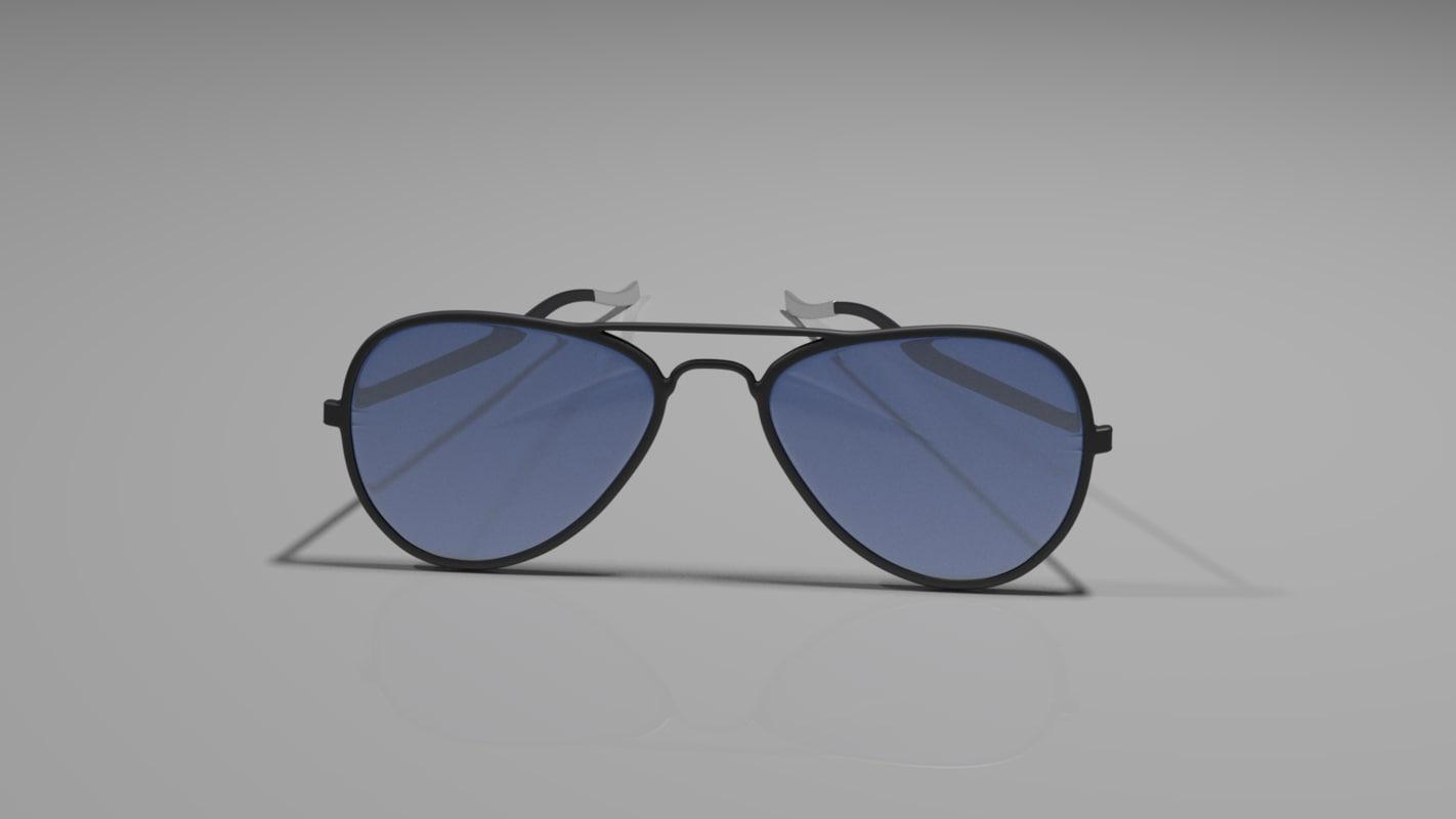 simple glasses model