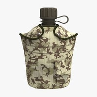 3D canteen 1 qt camouflage