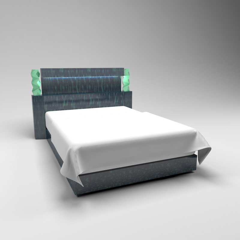 classic panel bed model
