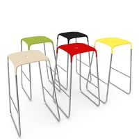 stool bob infinity chair 3D model
