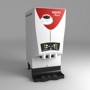 coffee machine cafe nescafe 3D